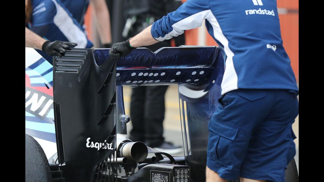 Felipe Massa - Williams - Formel 1-Test - Barcelona - 24. Februar 2016