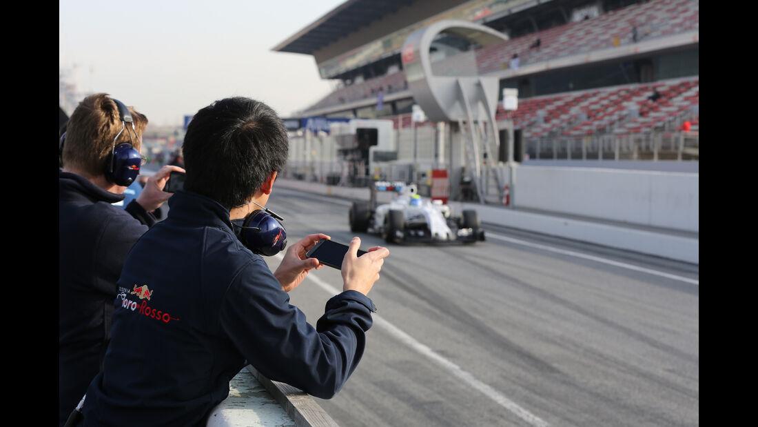 Felipe Massa - Williams - Formel 1-Test - Barcelona - 25. Februar 2016