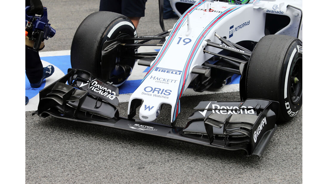 Felipe Massa - Williams  Formel 1-Test - Barcelona - 26. Februar 2015