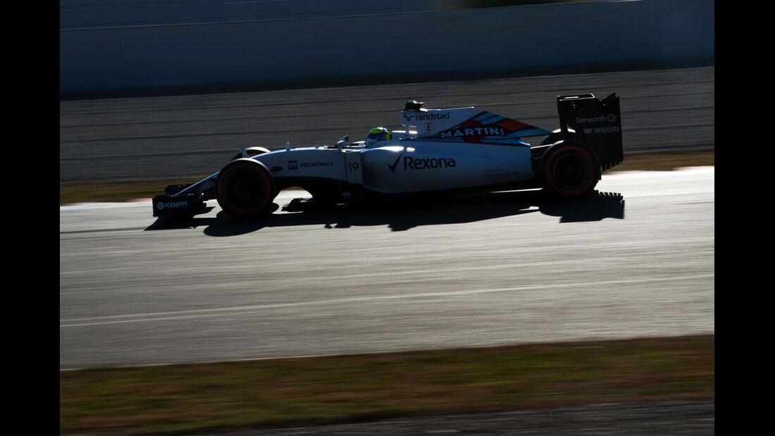 Felipe Massa - Williams - Formel 1-Test - Barcelona - 28. Februar 2015