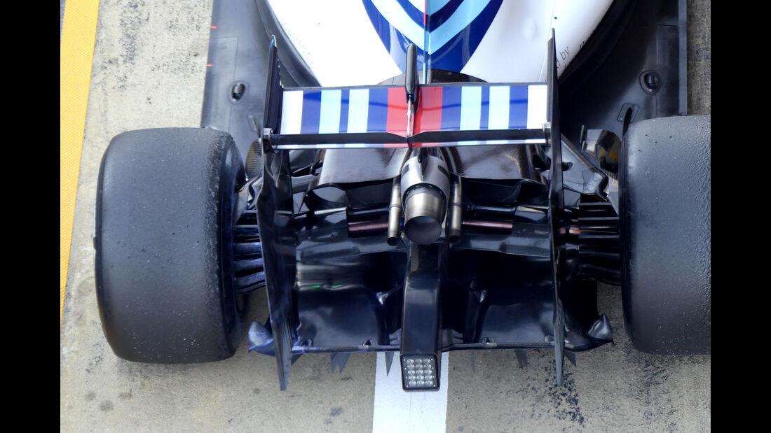Felipe Massa - Williams - Formel 1-Test - Barcelona - 4. März 2016
