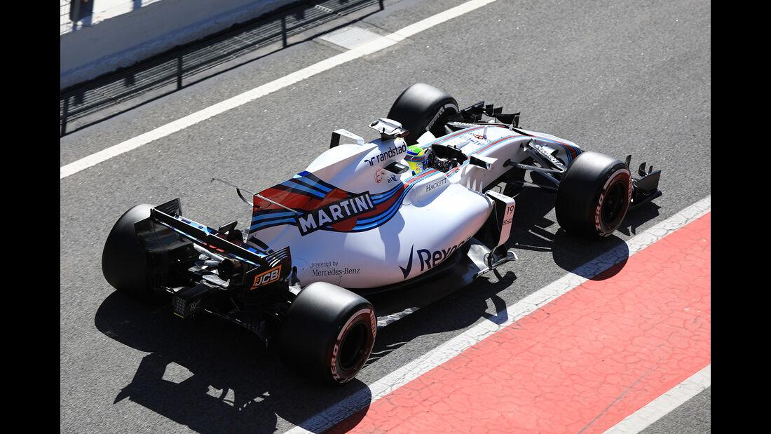 Felipe Massa - Williams - Formel 1 - Test - Barcelona - 7. März 2017