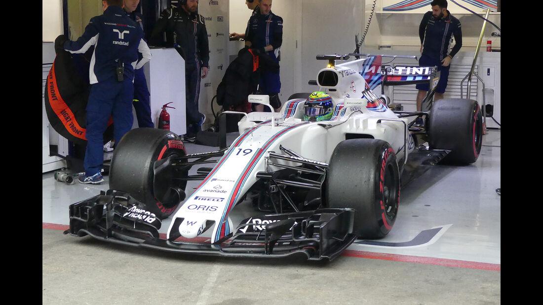 Felipe Massa - Williams - Formel 1 - Test - Barcelona - 8. März 2017