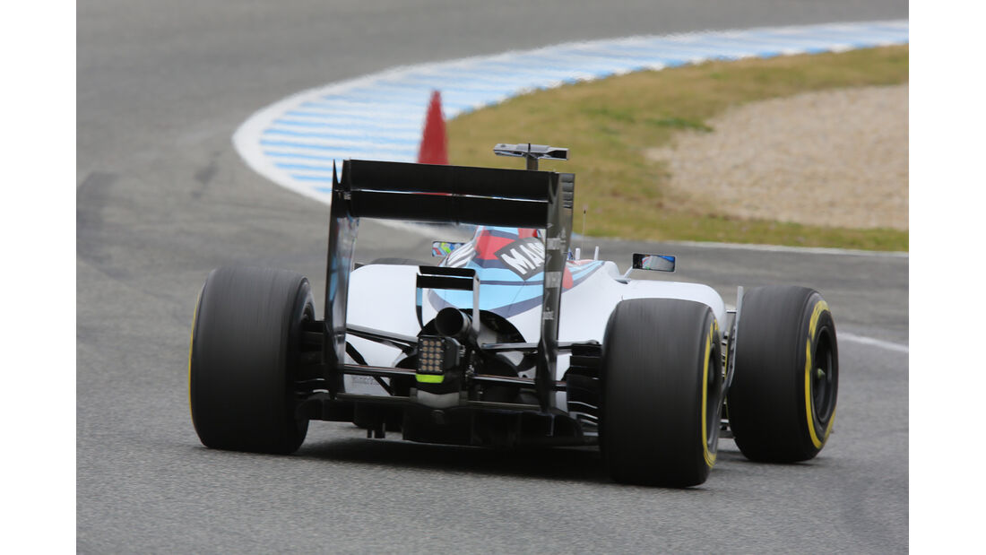 Felipe Massa - Williams - Formel 1-Test - Jerez - 3. Februar 2015