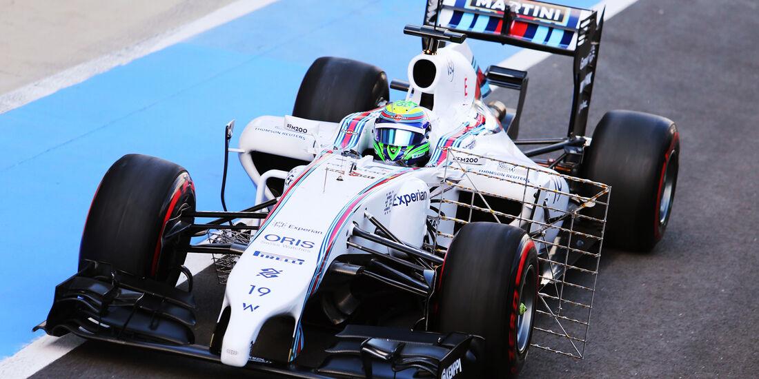 Felipe Massa - Williams - Formel 1-Test - Silverstone 2014