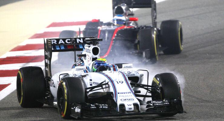 Felipe Massa - Williams - GP Bahrain 2015