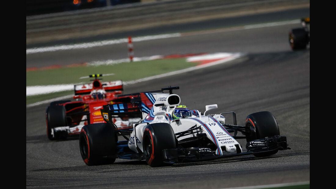 Felipe Massa - Williams - GP Bahrain 2017 - Rennen