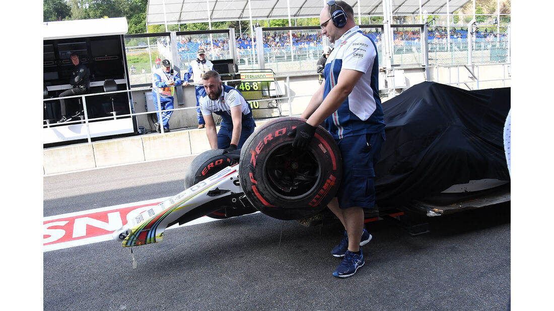 Felipe Massa - Williams - GP Belgien - Spa-Francorchamps - Formel 1 - 25. August 2017