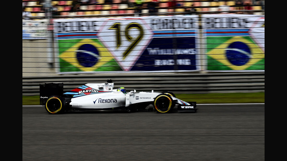 Felipe Massa - Williams - GP China 2016 - Shanghai - Rennen