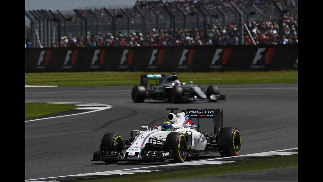 Felipe Massa - Williams - GP England 2016 - Silverstone - Rennen