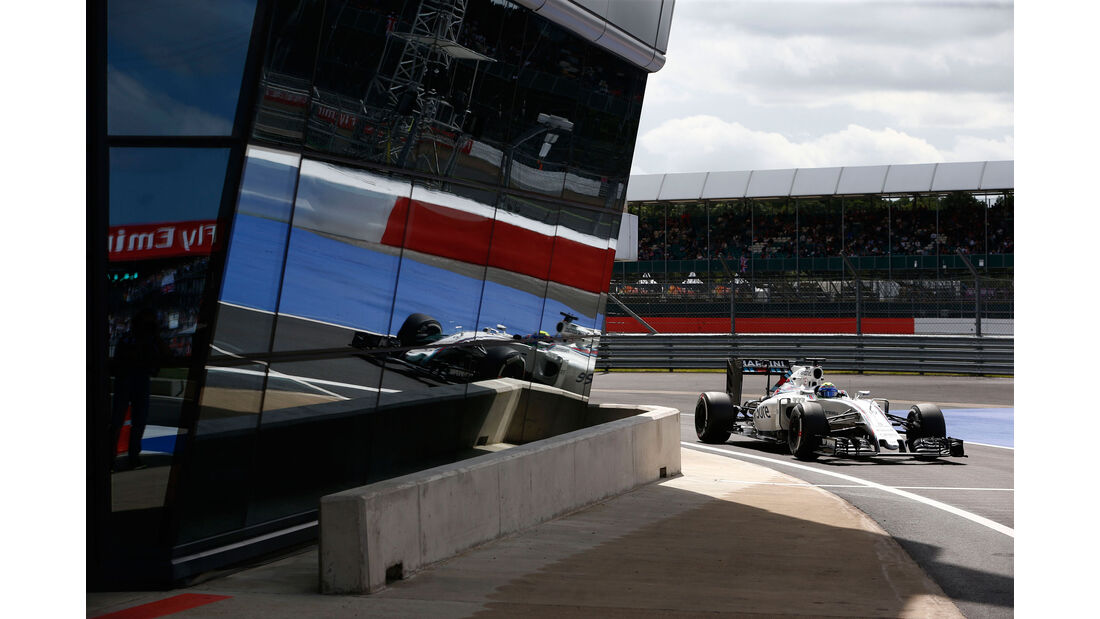 Felipe Massa - Williams - GP England - Silverstone - Formel 1 - Freitag - 8.7.2016