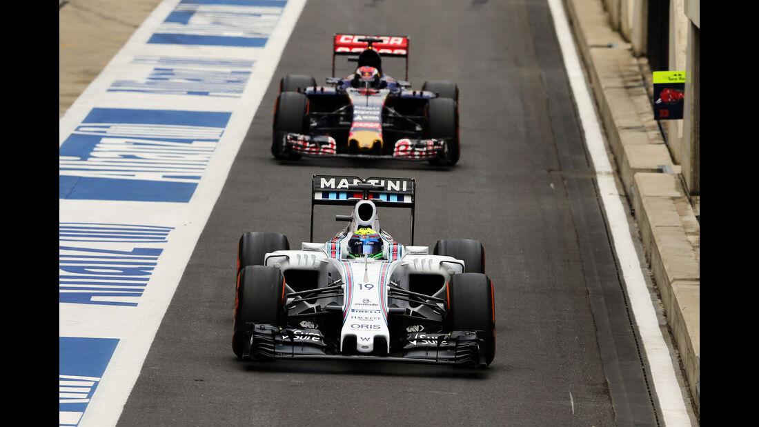Felipe Massa - Williams - GP England - Silverstone - Qualifying - Samstag - 4.7.2015