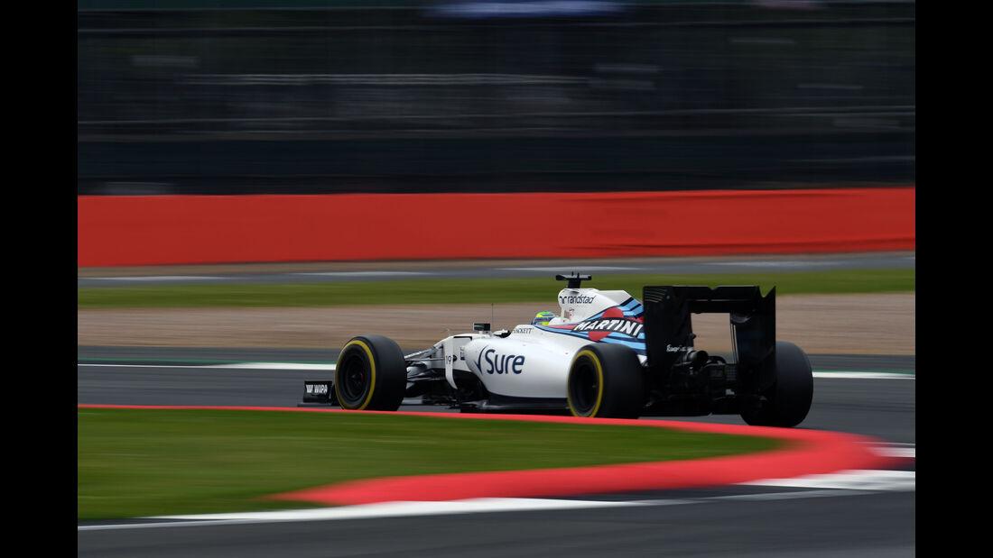 Felipe Massa - Williams - GP England - Silverstone - Qualifying - Samstag - 9.7.2016