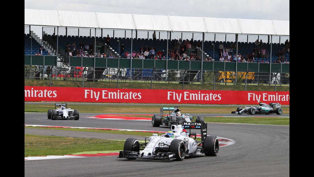 Felipe Massa - Williams - GP England - Silverstone - Rennen - Sonntag - 5.7.2015