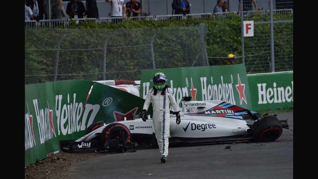 Felipe Massa - Williams - GP Kanada - Montreal - Freitag - 10.6.2016