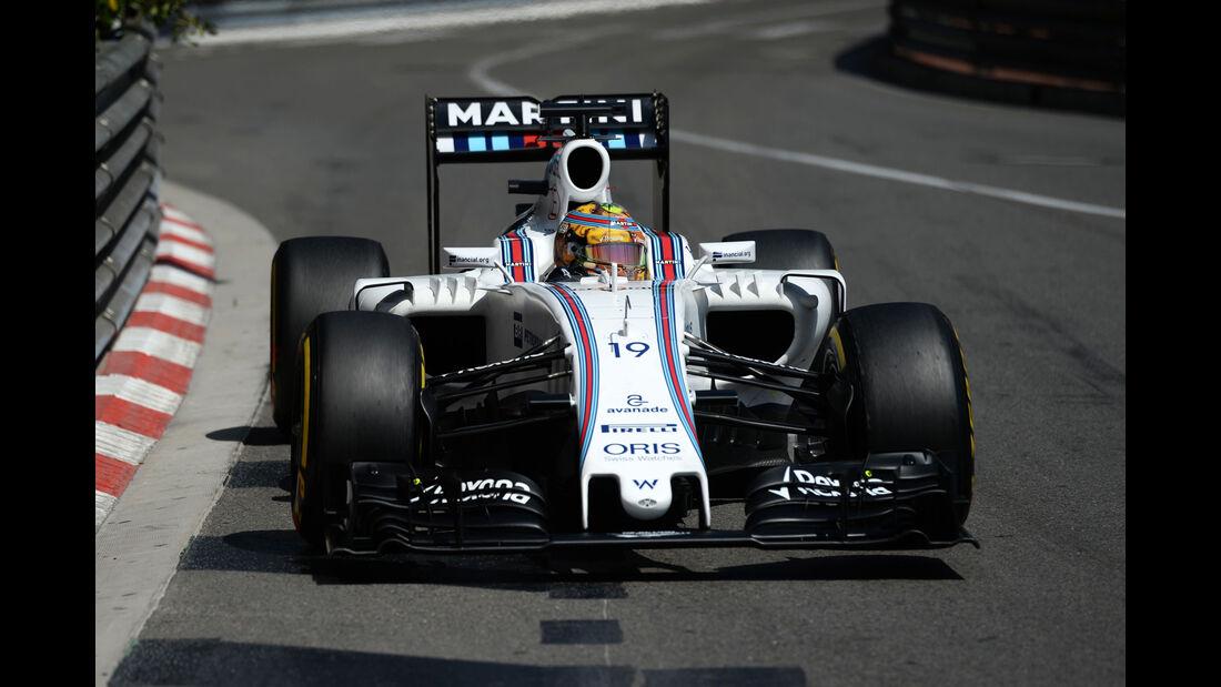 Felipe Massa - Williams - GP Monaco - Formel 1 - 28. Mai 2016