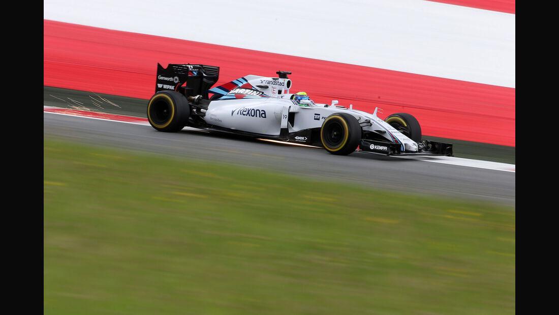 Felipe Massa - Williams - GP Österreich - Formel 1 - Freitag - 19.6.2015