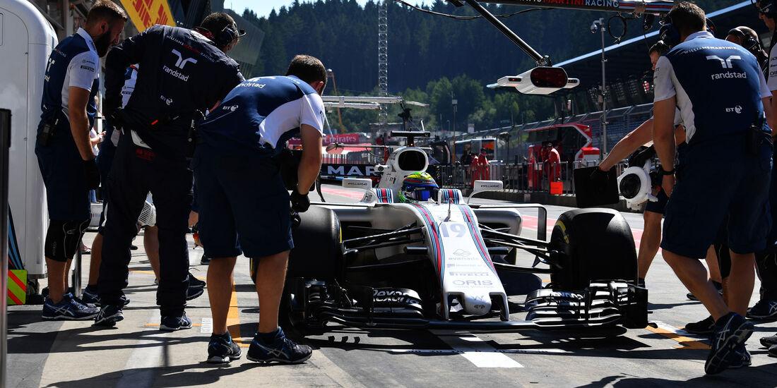 Felipe Massa - Williams - GP Österreich - Spielberg - Formel 1 - Freitag - 7.7.2017