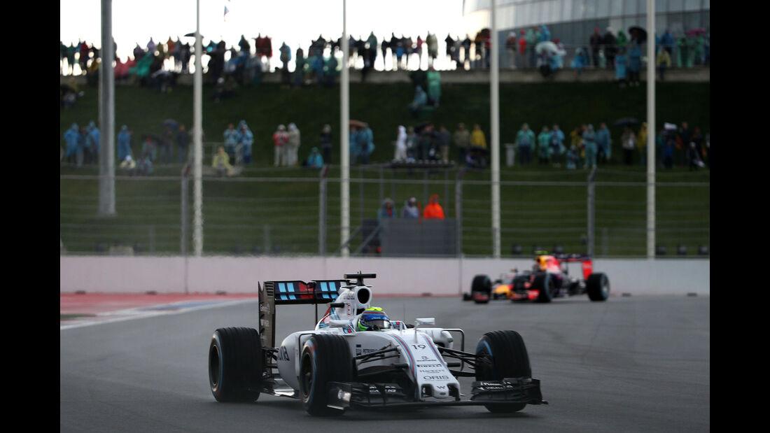 Felipe Massa - Williams - GP Russland 2015 - Freitag - 9.10.2015