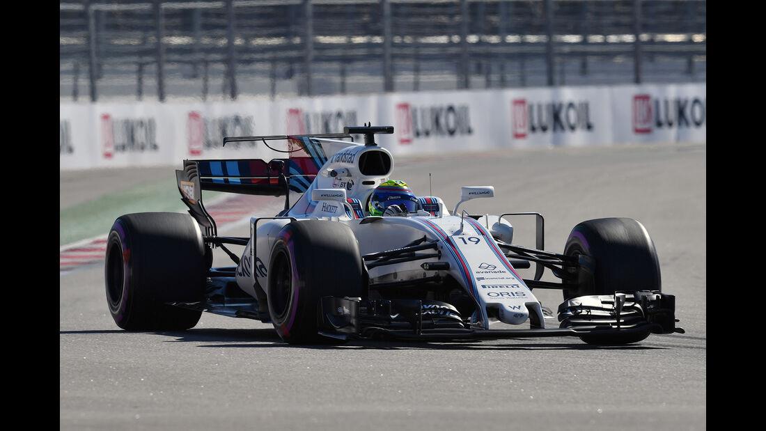 Felipe Massa - Williams - GP Russland 2017