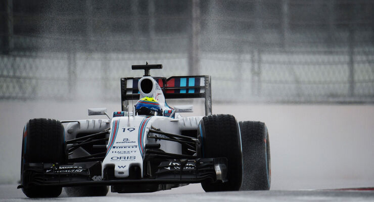 Felipe Massa - Williams - GP Russland - Sochi - Freitag - 9.10.2015