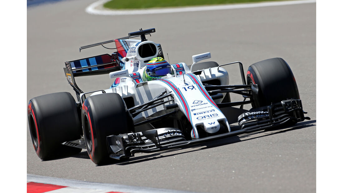Felipe Massa - Williams - GP Russland - Sotschi  - Formel 1 - 28. April 2017