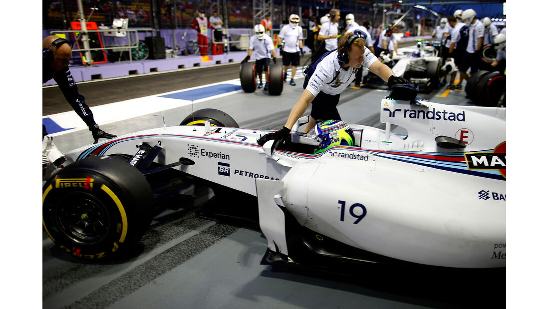 Felipe Massa - Williams - GP Singapur 2014