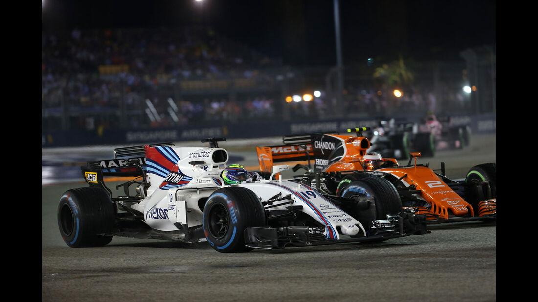 Felipe Massa - Williams - GP Singapur 2017 - Rennen