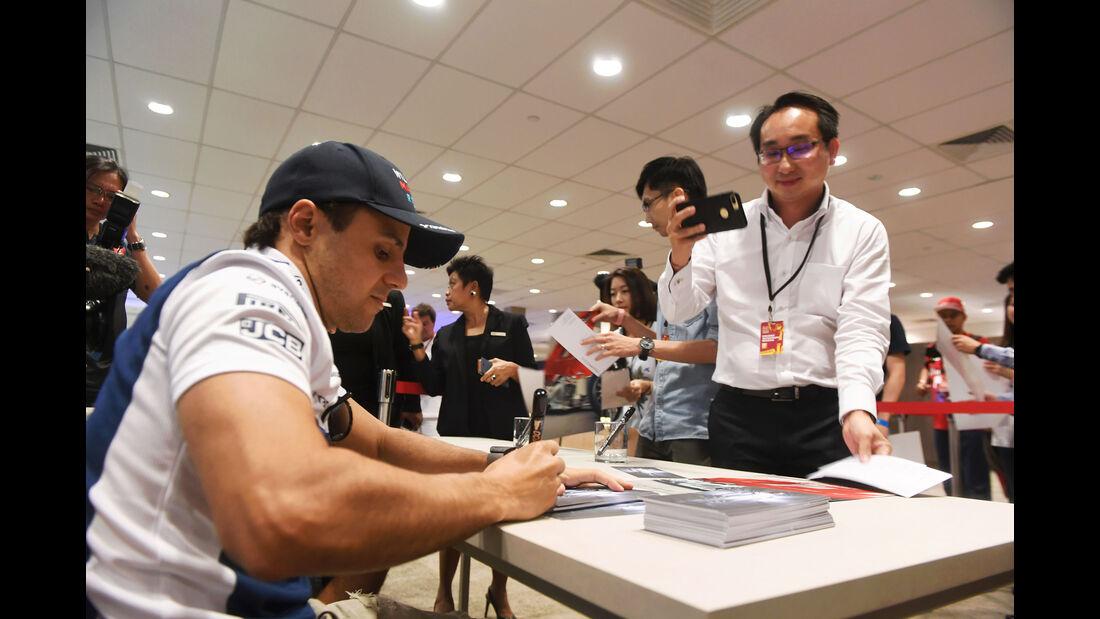 Felipe Massa - Williams - GP Singapur - Formel 1 - Donnerstag - 14.9.2017