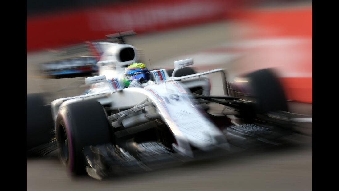 Felipe Massa - Williams - GP Singapur - Formel 1 - Freitag - 15.9.2017