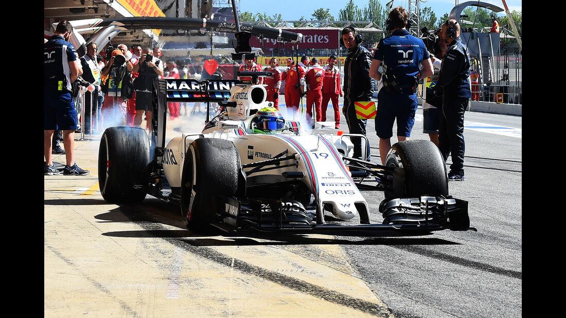 Felipe Massa - Williams - GP Spanien 2016 - Barcelona - F1 - Freitag - 13.5.2016