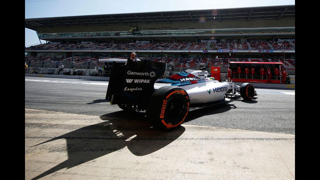 Felipe Massa - Williams - GP Spanien - Qualifying - Samstag - 9.5.2015