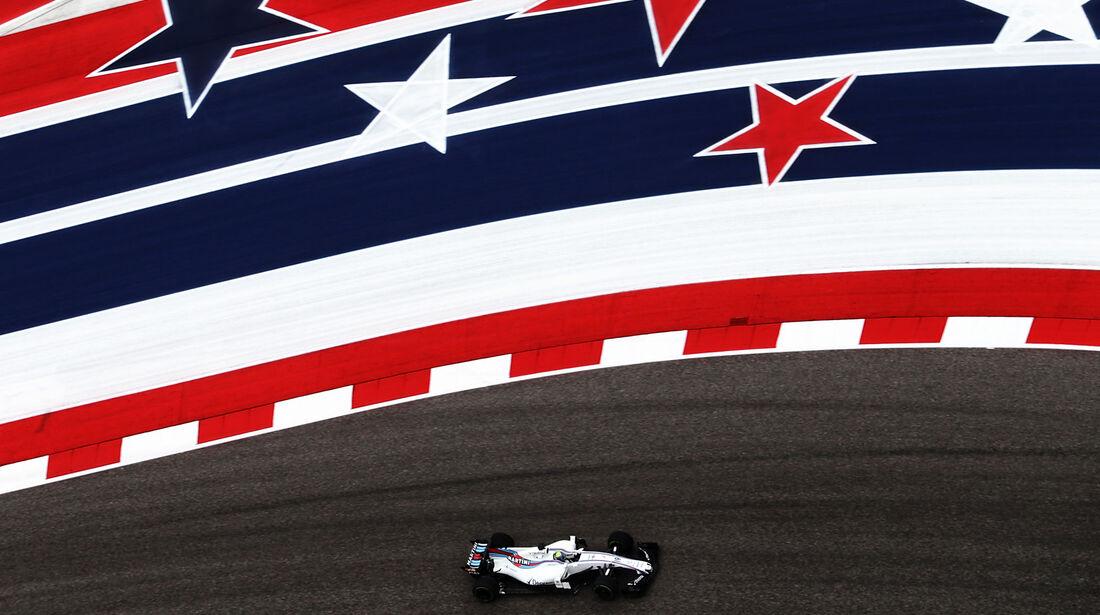 Felipe Massa - Williams - GP USA - Austin - Formel 1 - Freitag - 20.10.2017