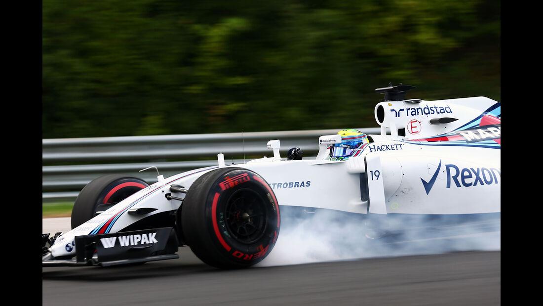 Felipe Massa - Williams - GP Ungarn - Budapest - Formel 1 - 22. Juli 2016