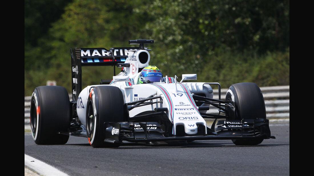Felipe Massa - Williams - GP Ungarn - Budapest - Qualifying - Samstag - 25.7.2015