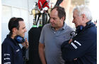 Felipe Massa - Williams - Gerhard Berger - Pat Symonds - Formel 1 - Bahrain - Test - 21. Februar 2014