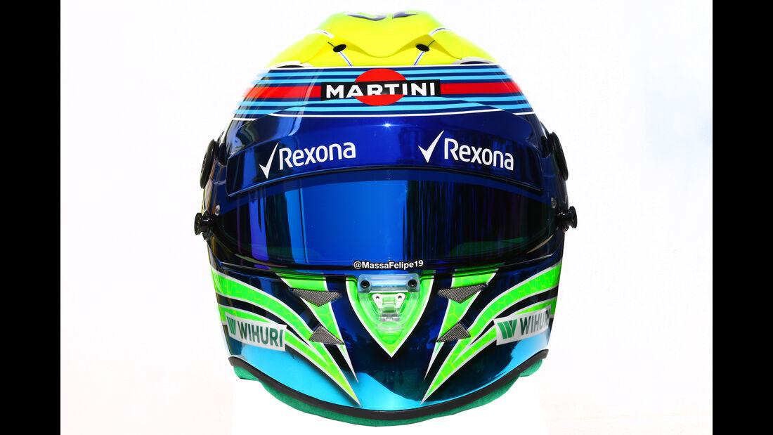 Felipe Massa - Williams - Helm - Formel 1 - 2016