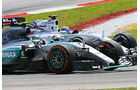 Felipe Massa - Williams - Nico Rosberg - Mercedes - GP Malaysia 2015 - Formel 1