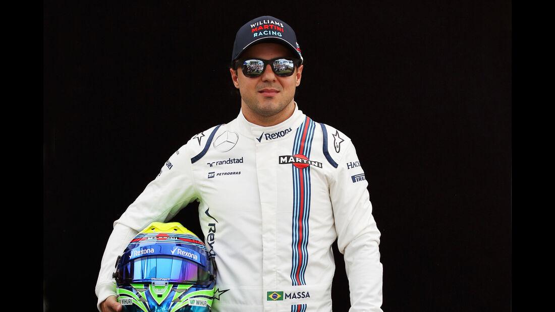Felipe Massa - Williams - Porträt - Formel 1 - 2016