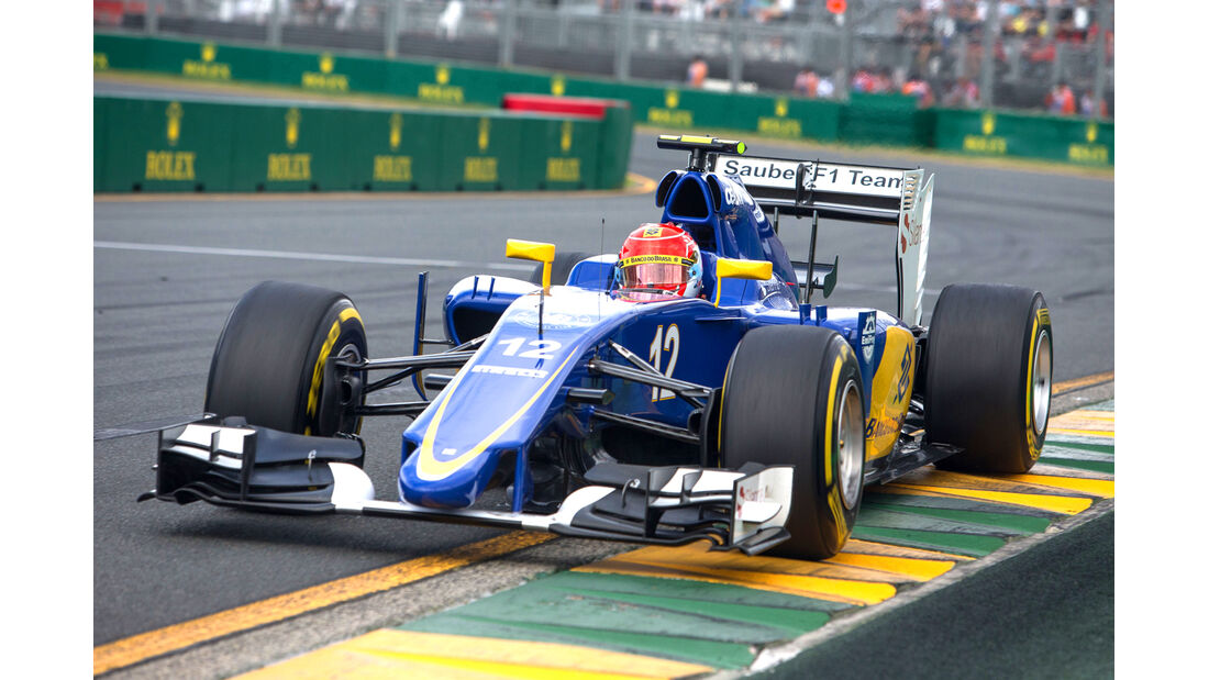Felipe Nasr - Formel 1 - GP Australien 2015