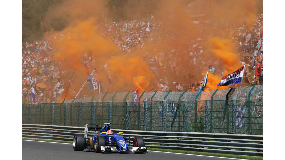 Felipe Nasr - Formel 1  - GP Belgien 2016