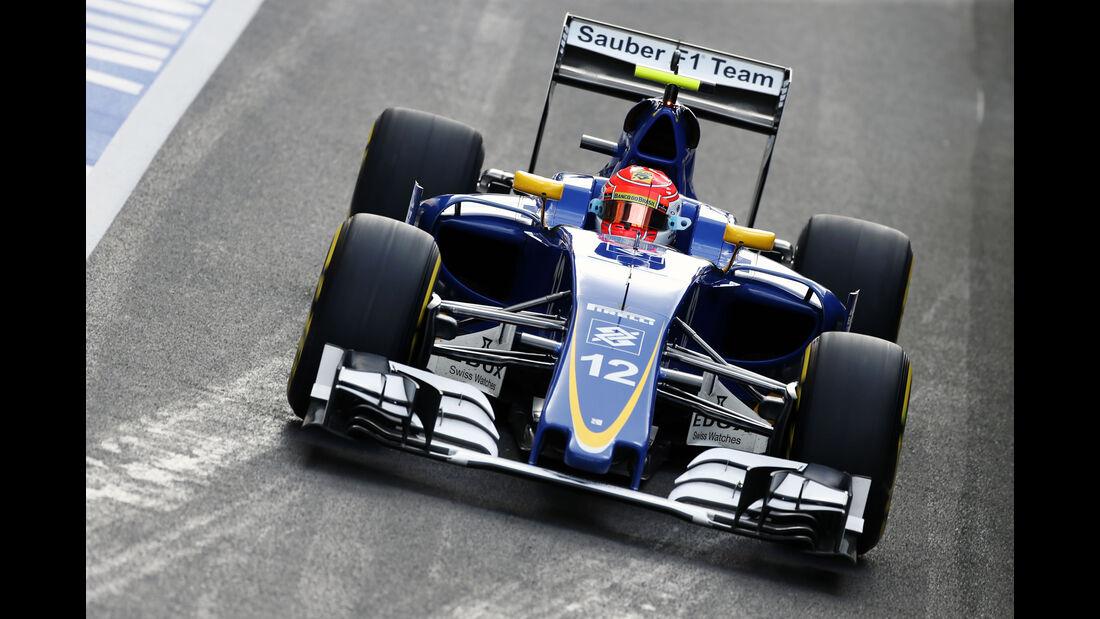 Felipe Nasr - Formel 1 - GP England 2016