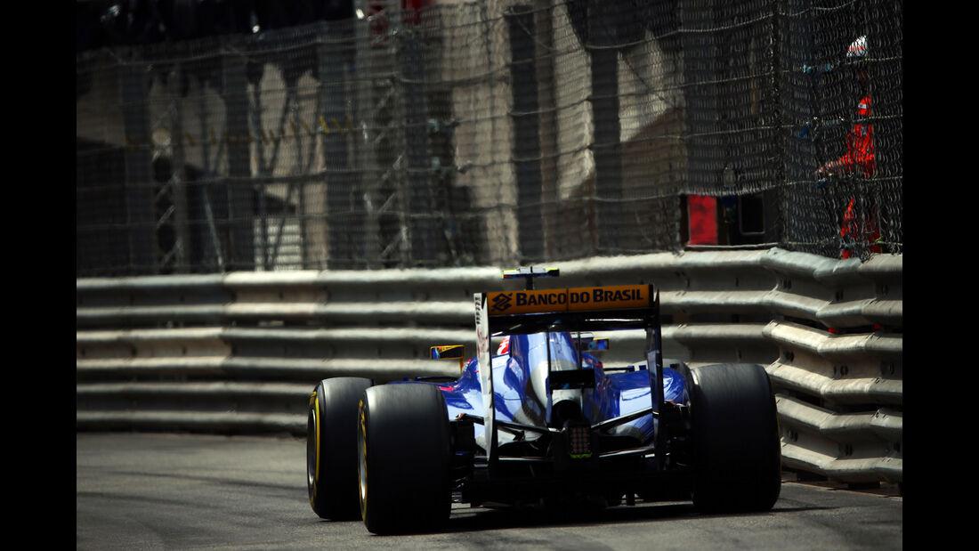 Felipe Nasr  - Formel 1 - GP Monaco - Sonntag - 24. Mai 2015