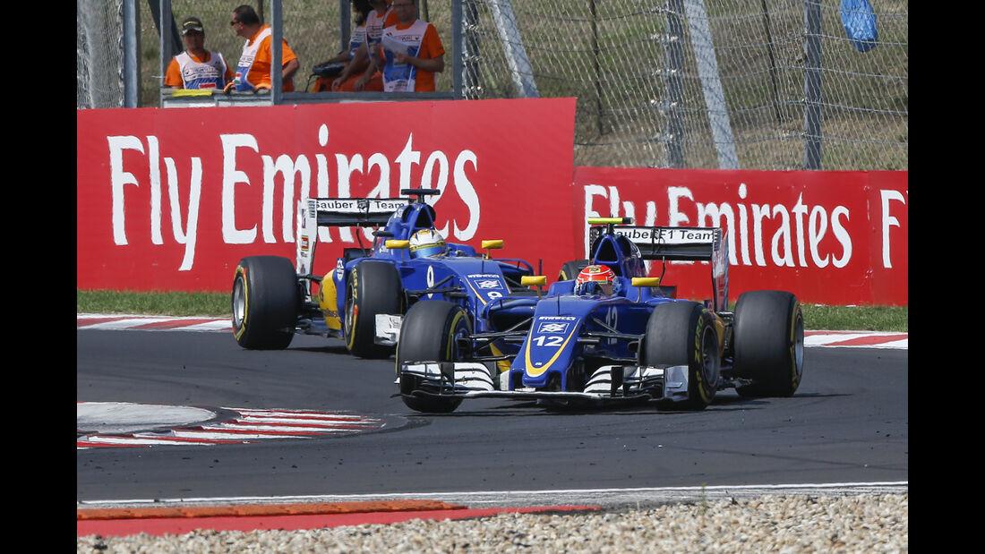 Felipe Nasr - Formel 1 - GP Ungarn 2016