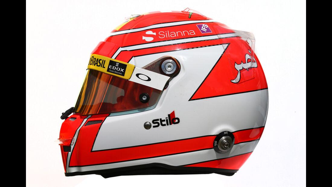 Felipe Nasr - Formel 1 - Helm - 2016