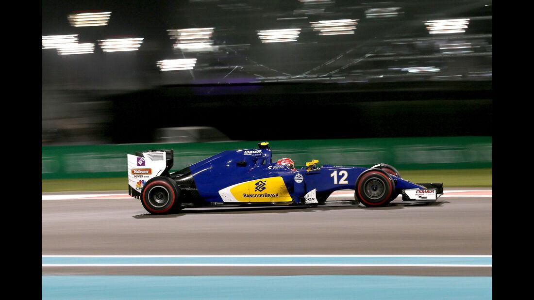 Felipe Nasr - GP Abu Dhabi 2016