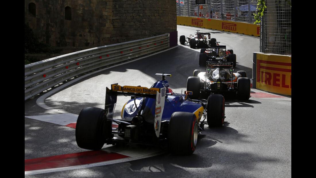 Felipe Nasr - GP Aserbaidschan - Formel 1 - 2016