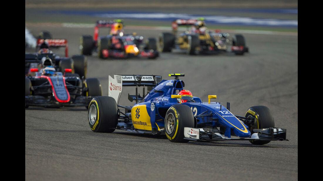 Felipe Nasr - GP Bahrain 2015