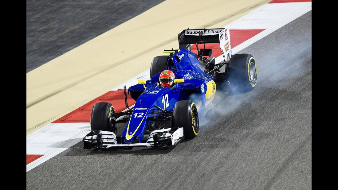 Felipe Nasr - GP Bahrain 2016