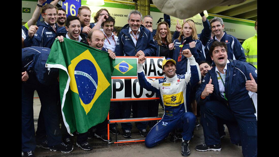 Felipe Nasr - GP Brasilien 2016